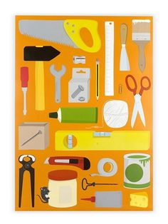 Tools Poster (DIN A1)