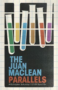 melissa bergen dot com / Spaceland, The Echo, #maclean #melissa #print #juan #bergen #drawn #poster #music #hand #concert