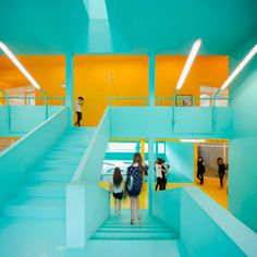 Bangkok University Student Activity Center #aqua