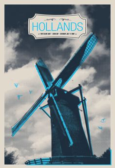 Hollands - Gig Poster