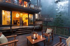 Schedvin #terrace #fog #wooden
