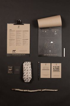 Branding Steakhouse The Cowboy #inspiration #branding #identity