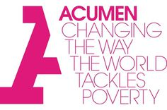 Acumen Logo and Identity