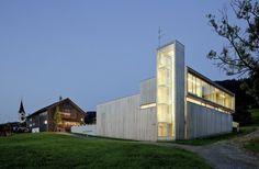 Architecture Photography: Fire Station In Sulzberg-Thal / Dietrich | Untertrifaller Architekten Fire Station In Sulzberg-Thal / Dietrich | Untertrifal #architecture