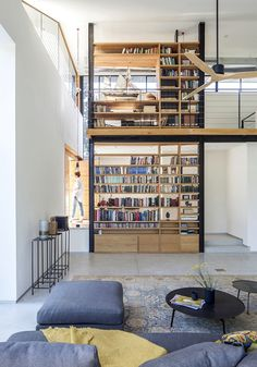 The CY House has a Double Height Inner Space and is Bathed in Light