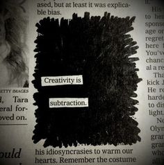 this isn't happiness.™ #paper #creativity #subtraction