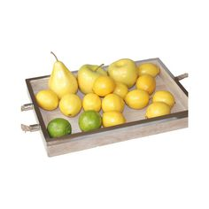 Timber Tray with Stainless Steel Round Rim 46cm x 30cm x 4cm