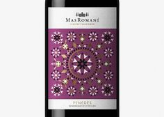 Dorian #kaleidoscope #spain #packaging #dorian #roman #wine #gold #barcelona #mas #symmetric