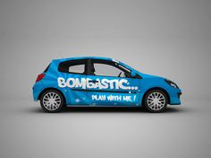Hatchback Car Mockup - Free Download | Freebiesjedi