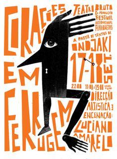 João César Nunes #design #typography #poster