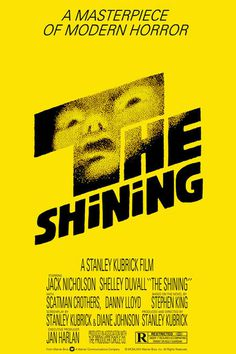 THE SHINING #redrum #shining #poster #the