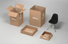 packaging for designer furniture