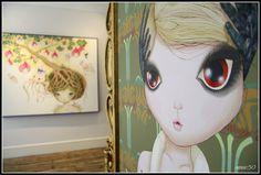 Nina Pandolfo Feelings @ Lazarides #london #gallery #painting