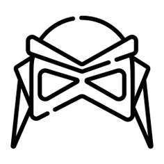 See more icon inspiration related to superhero, fictional character, heroe, accessory, character, mask and fashion on Flaticon.