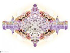 Building Collage on Dropula - The inspirational catalogue #aires #building #planetarium #buenos