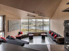 Modern Weatherproof Lodges on the Rogaland Hiking Trail