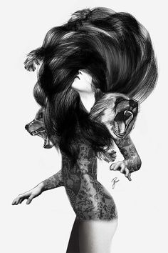 Mixed Illustrations by Jenny Liz Rome #design #graphic #illustrations #people #animals #mixed