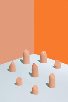 Lipstick Collaboration between artist Maurizio Cattelan and photographer Pierpalo Ferrari