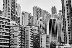 Mid Level district. Hong Kong. #architecture #asia #hongkong #photo #shot #picture #travel #blackandwhite