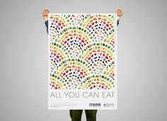 All you can eat #photography #patterns #poster #food