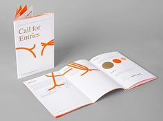 Studio Lin — High-res Special | September Industry #orange #lin #studio #type #core77 #brochure