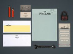 Sinclair_stationary #branding