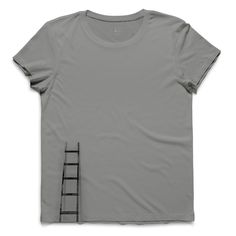 #stiga #light gray #tee #tshirt #martinlutherking #stair #step #minimal #simplicity