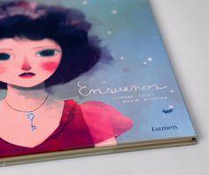 Ensueños mariadiamantes #oniric #conradroset #lumen #design #book #layout #editorial #children