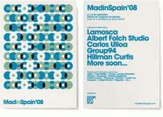 Lamosca . Madinspain'08 #invite #invitation #event #flyer #avant #garde