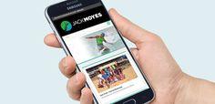#responsive #mobile #design #branding #surf #hand #logo