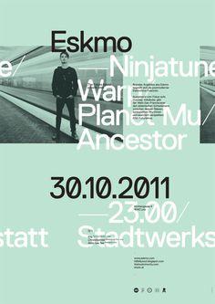 Wofi Ortner #type #eskmo #poster #typography