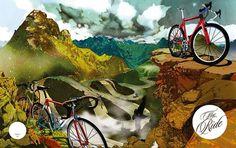 We Made This Ltd #illustration #ride #magazine
