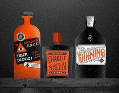 Eight Hour Day » Blog #sheen #bottles #charlie #poison