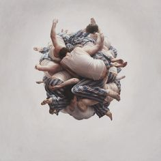 Cluster by Jeremy Geddes #painting #people