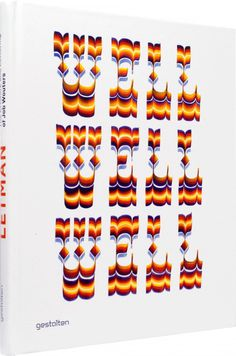 Letman's typographic compositions #cover #book #typography