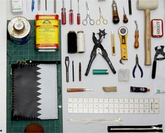 work #inspiration #creative #knolling #examples #photography #knoll #organization