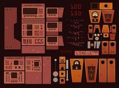 Artist spotlight James Gilleard illustrations - Jared Erickson   Jared Erickson #illustration #retro