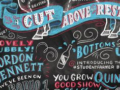 Chalk Typography Artwork