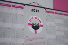 Calendrier 2013 #delaplace #2013 #vintage #calendrier #petit #bateau