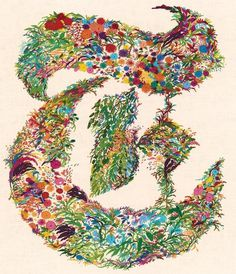 Fashion and Design - T Magazine Blog - NYTimes.com #embroidery #colorful #floral #nature