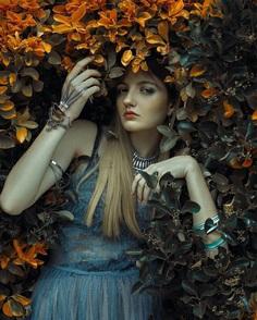 Fabulously Beautiful Female Portrait Photography by Rafael Sanchez