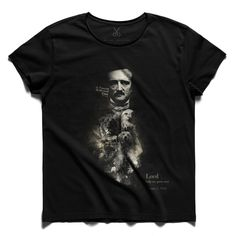 #poe #black #tee #tshirt #poe #raven #bear #lion #author #write #finalsay
