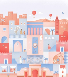 Postcard from Morocco on Behance