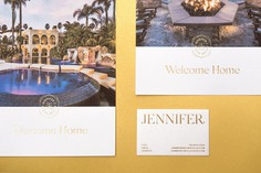 JENNIFER Corporate Design - Mindsparkle Mag Mubien Studio designed the branding for JENNIFER, a San Diego luxury residential real estate agent working for Pacific Sotheby's and specializing in areas of Rancho Santa Fe, Del Mar, Solana Beach, and La Jolla. #logo #packaging #identity #branding #design #color #photography #graphic #design #gallery #blog #project #mindsparkle #mag #beautiful #portfolio #designer