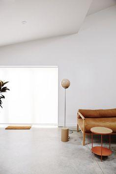Contemporary living room. Home of Douglas and Bec. © Pippa Drummond Photography. #livingroom #concretefloor