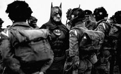 Super Hero | Fubiz™ #heroe #wwii #batman #super