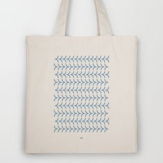 Nonsense Totebag - Hadrien Degay Delpeuch #vector #fabric #totebag #minimal #bag #blue