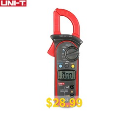 UNI-T #600A #AC #DC #Digital #Clamp #Meters #With #Temperature #Test #600V #Voltage #Auto #Range #Multimeters