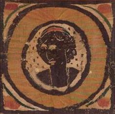 4 textile fragments