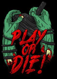 PLAY OR DIE on Behance